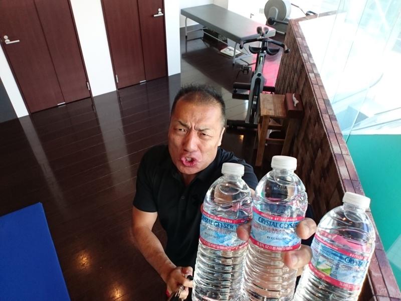 水を飲もう!