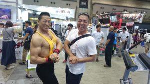 シュワルツ浅井と小沼選手