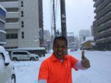 シュワルツ浅井、雪かきダイエット