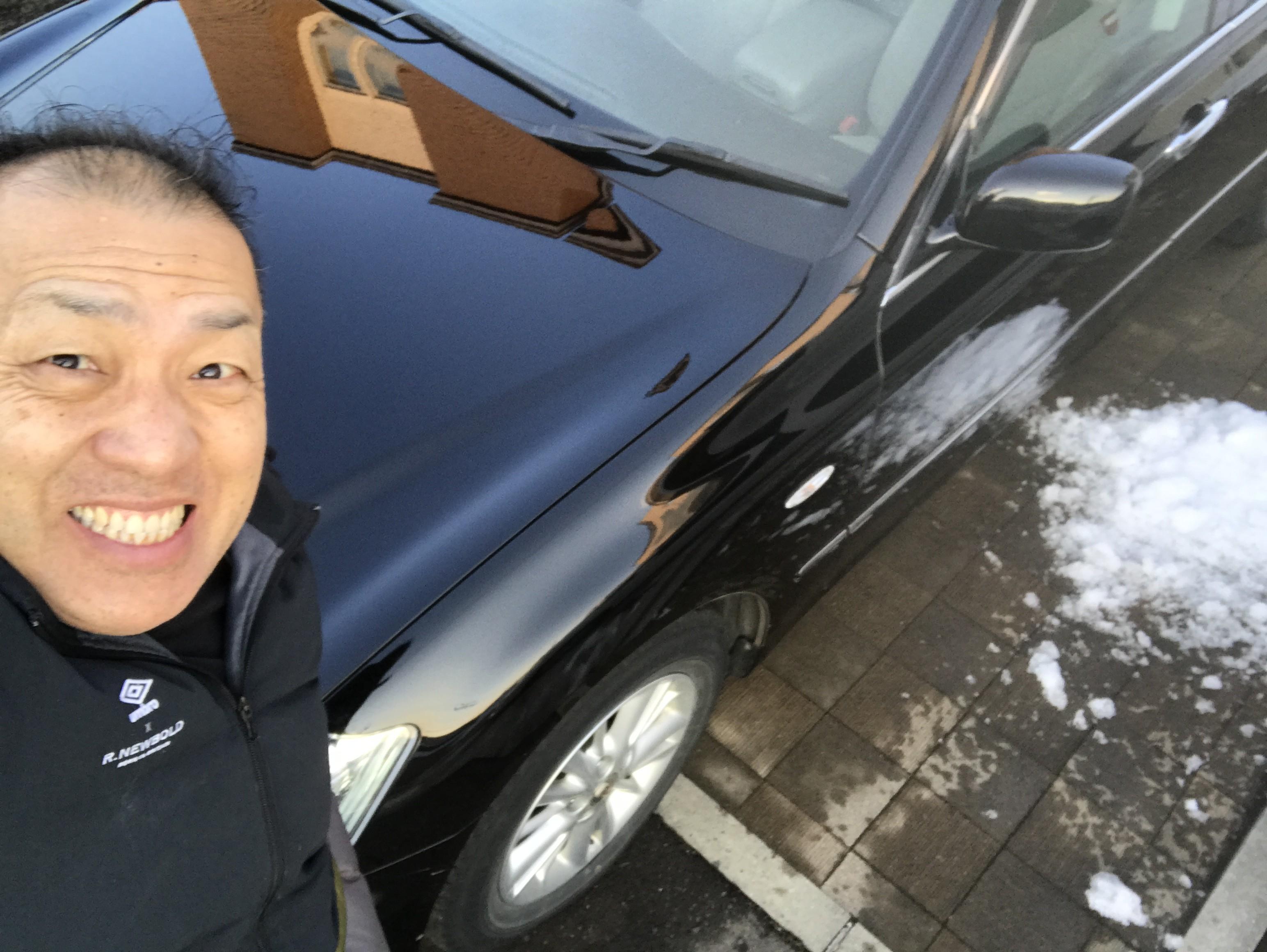 シュワルツ浅井と愛車シュワルツ号