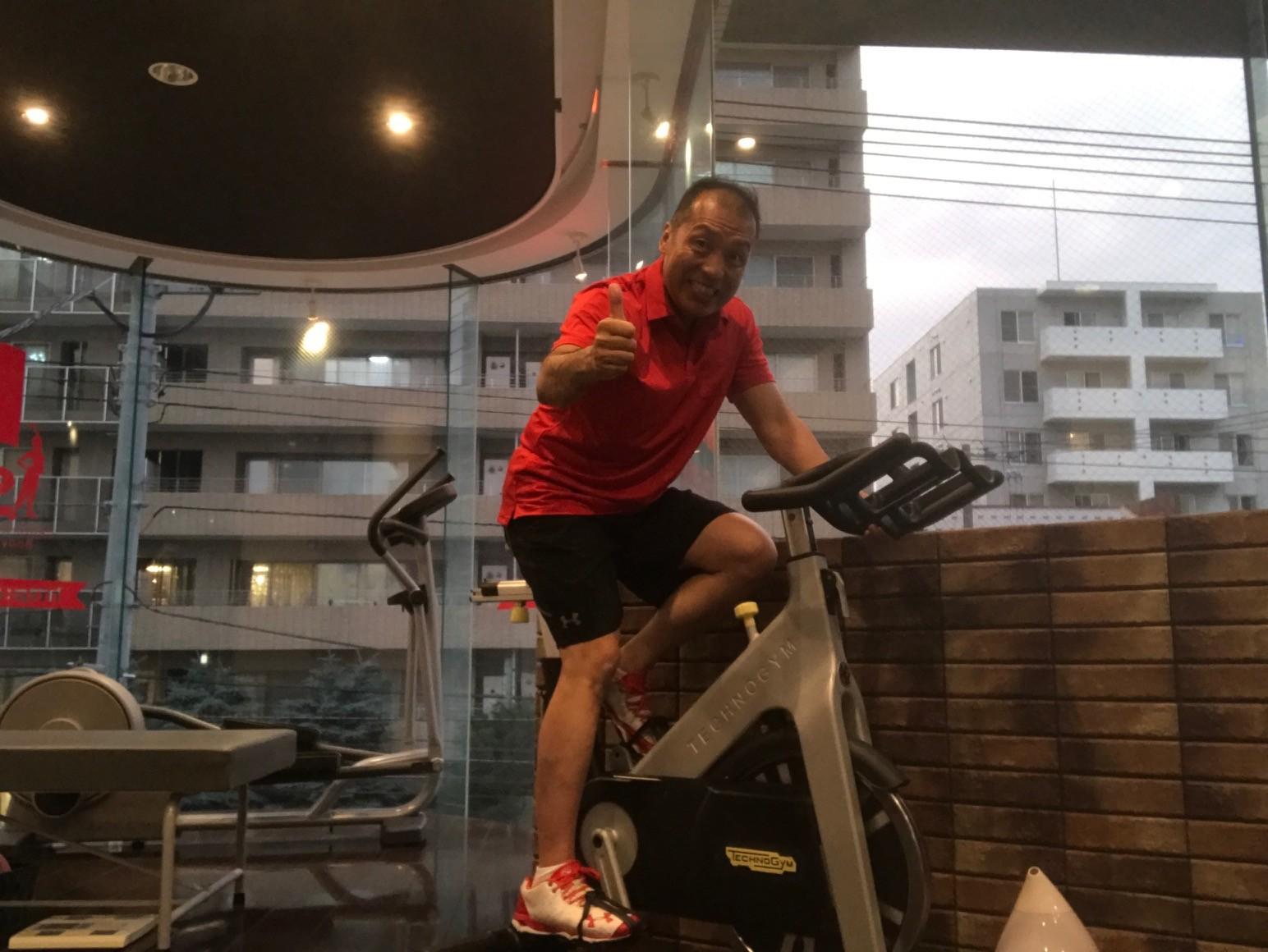 自転車でダイエット!