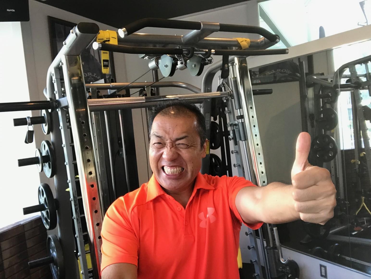 筋肉がすべて解決してくれるんです!