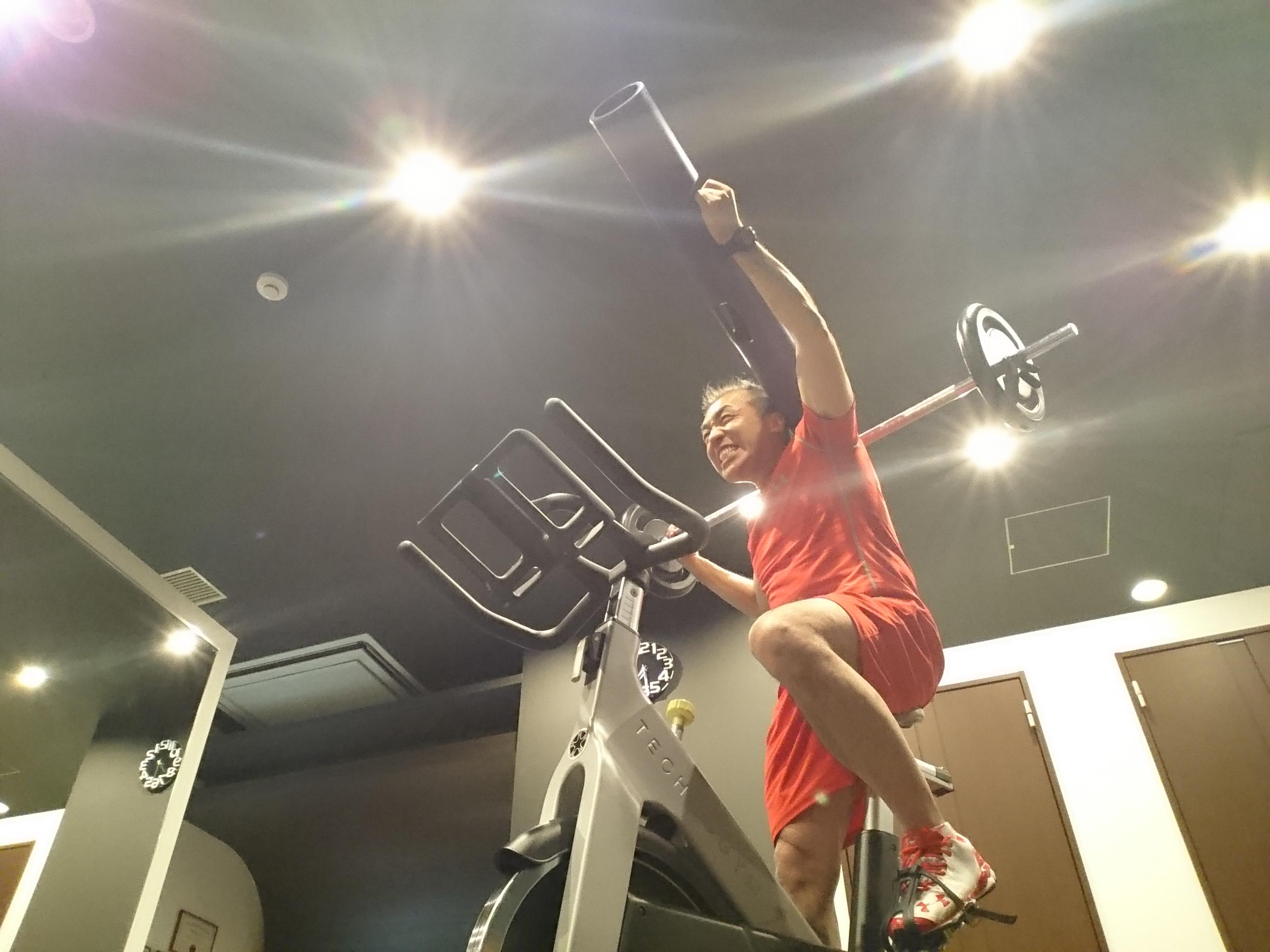 痩せるには運動が足りないみたいです…